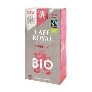 BIO ESPRESSO, coffee Royal 10 compatible Nespresso aluminium capsules