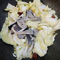 白菜炒鲜蘑的做法图解8