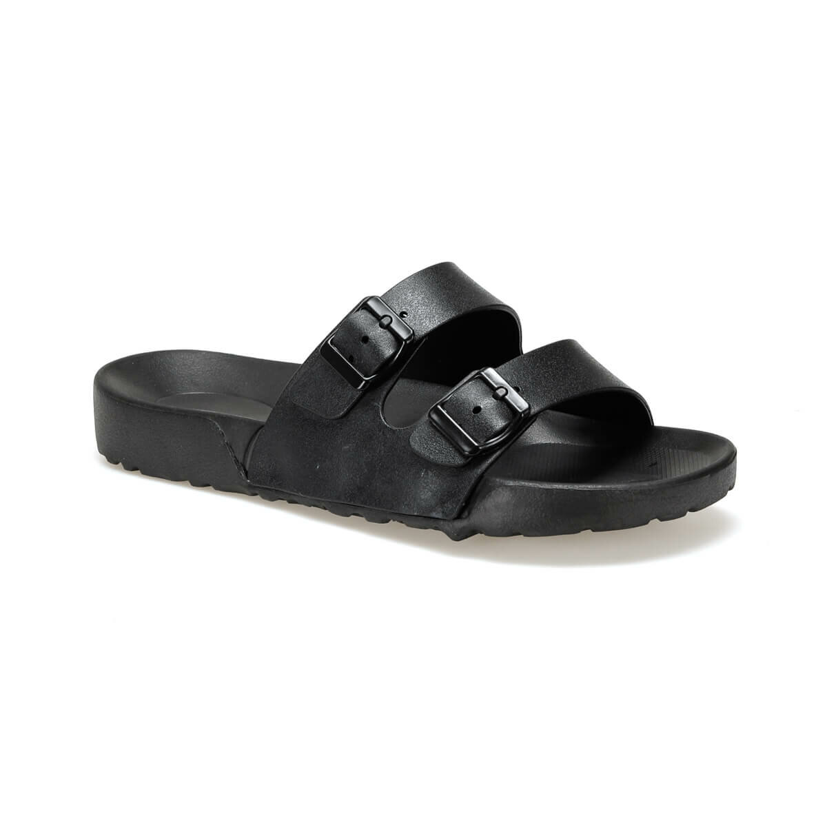 FLO SONTA Black Male Slippers KINETIX