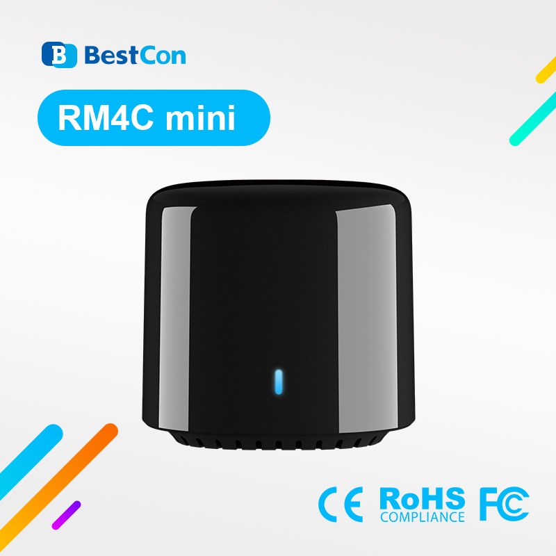 2020 Broadlink BestCon New RM4C Mini Smart Home Automation Universal IR Remote Control TV AC Works With Alexa Google Home IFTTT