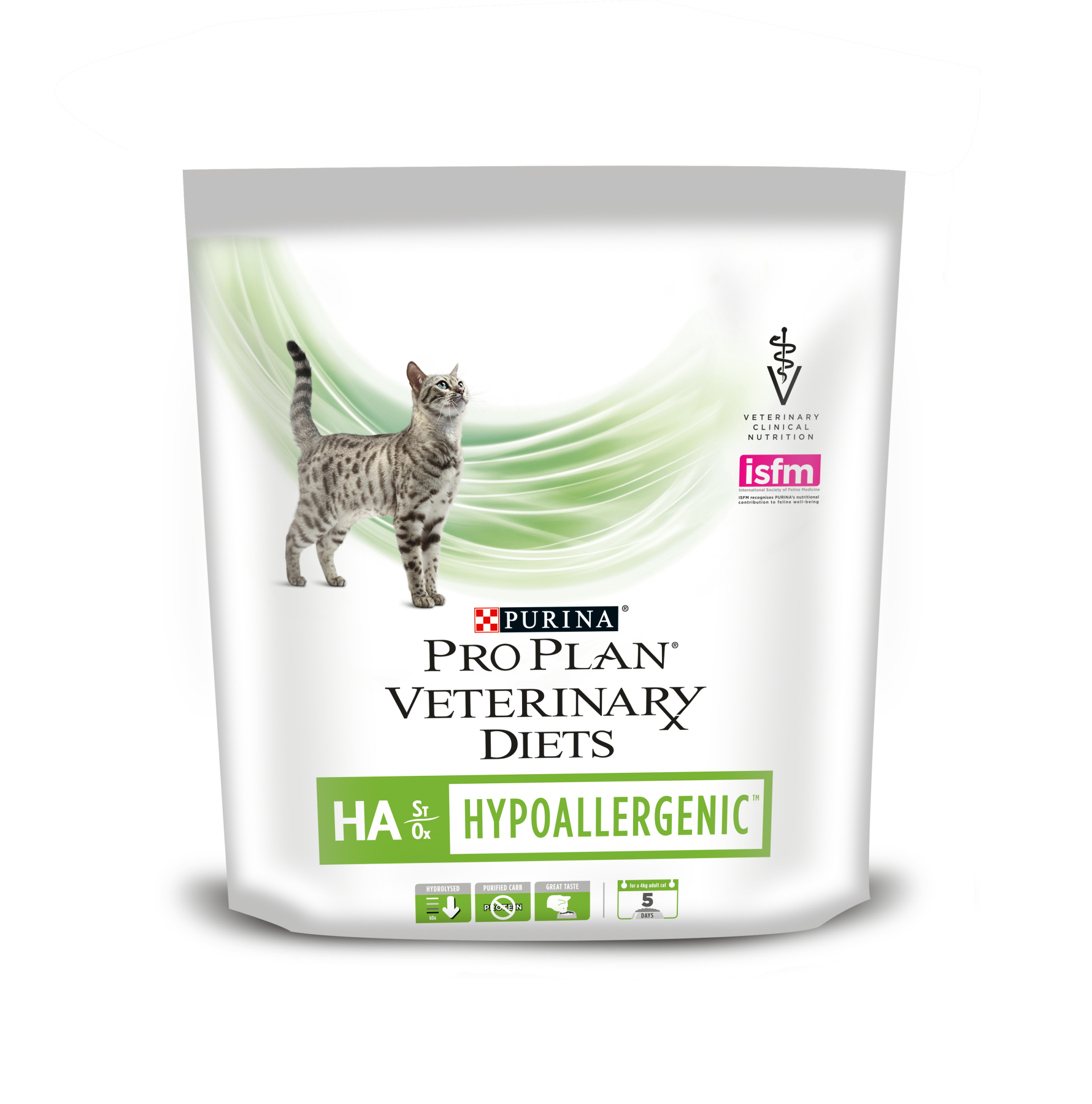 Pro Plan Veterinary Diets HA Hypoallergenic cat food in the treatment of food allergies, 325 gr image