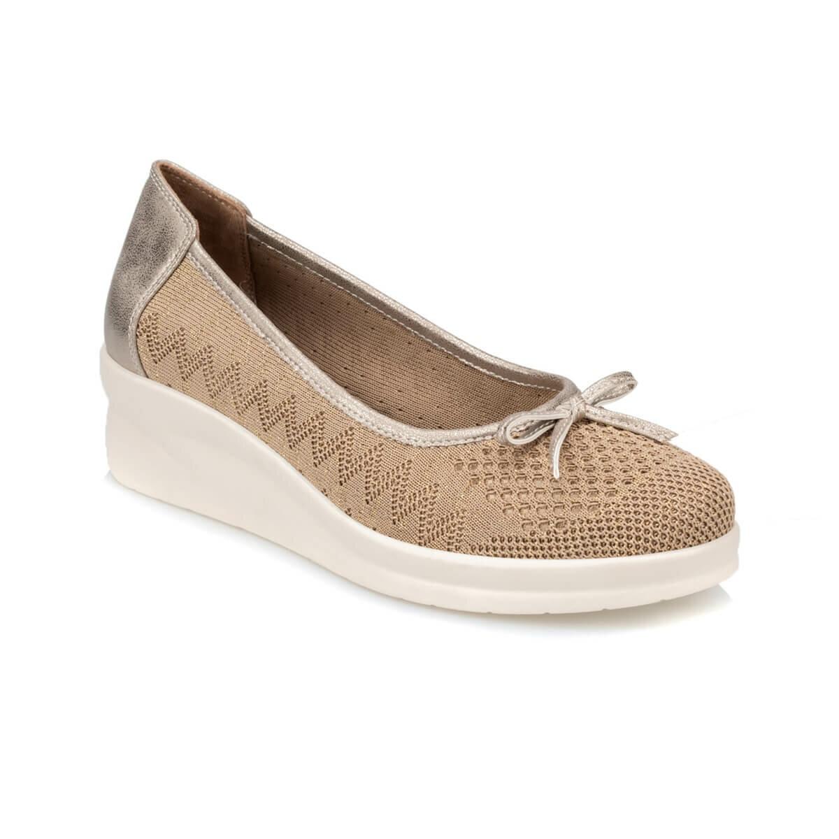 FLO TRV910046 Gold Women 'S Shoes Polaris