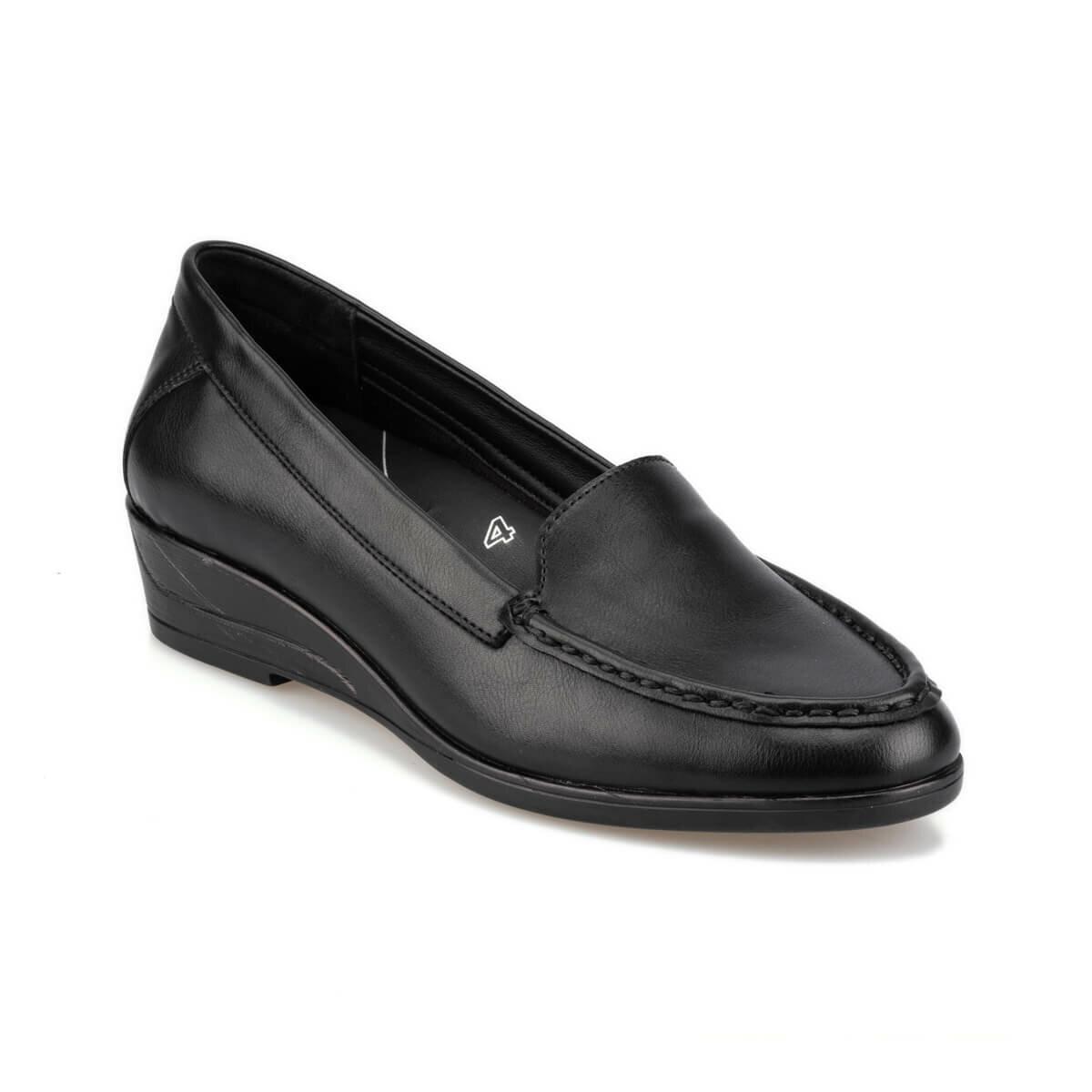 FLO 92.101022.Z Black Women 'S Wedges Shoes Polaris 5 Point