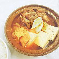 韩式肥牛泡菜豆腐汤的做法图解9