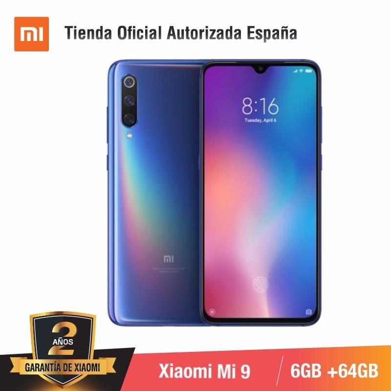 Global Version for Spain] Xiaomi Mi 9 (Memoria interna de 64GB, RAM de 6GB, Triple camara de 48 MP) smartphone