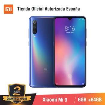 Global Version for Spain] Xiaomi Mi 9 (Memoria interna de 64GB, RAM de 6GB, Triple camara de 48 MP) smartphone