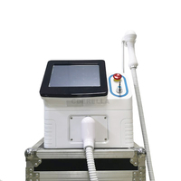 Portable Painless High Power Laser 808nm Diode Hair Removal Beauty Machine 400W With 50 Million Shot