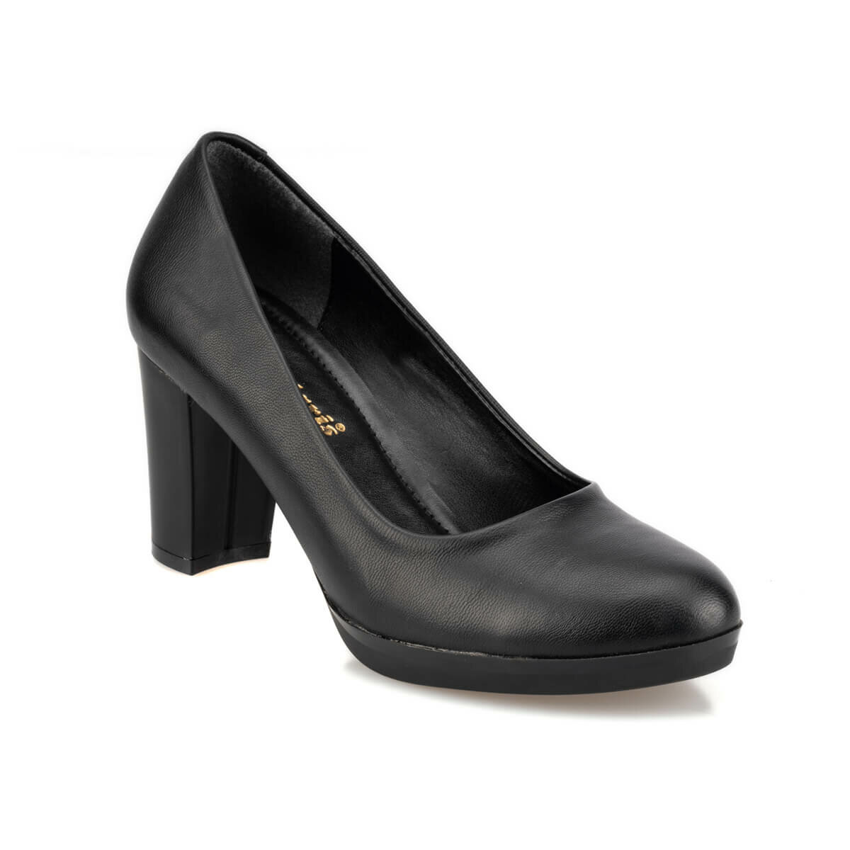FLO 92.310256.Z Black Women Shoes Polaris