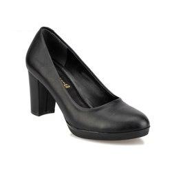 FLO 92.310256.Z Schwarz Frauen Schuhe Polaris
