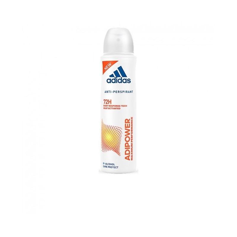 Adidas WOMAN ADIPOWER 0% 72H Deodorant Spray 200 Ml
