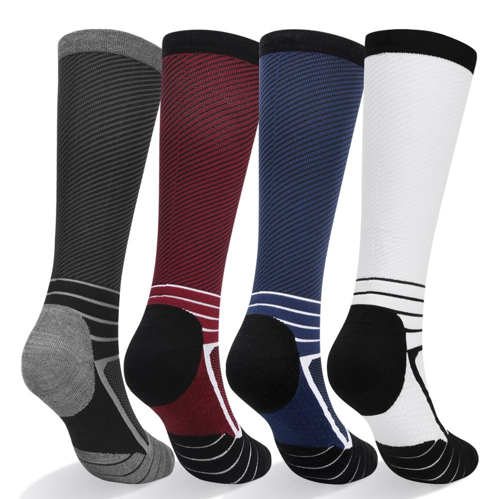 YUEDGE 2pac Socks Men's And  Outdoor Sports Hiking Travel Outdoor Compression Socks High Quality Men's Socks EU 39-47 Size