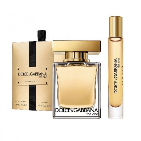 DG THE ONE WOMAN EDT 100ML EDT + 7,4ML ROLL ON