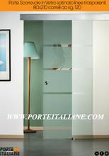 Puertas/paneles internos a ras de pared hechos en Italia muchos usos y colores LINVISIBILE tamaño 80X210