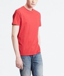 Basic T-shirt Levis®Smooths Basic T Red color fashion short sleeve BRANDED for men Clothing male