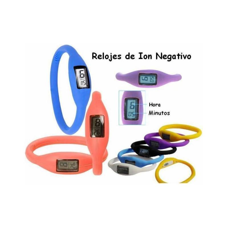 Wrist Watch Negative ION Balance And Health Silicone