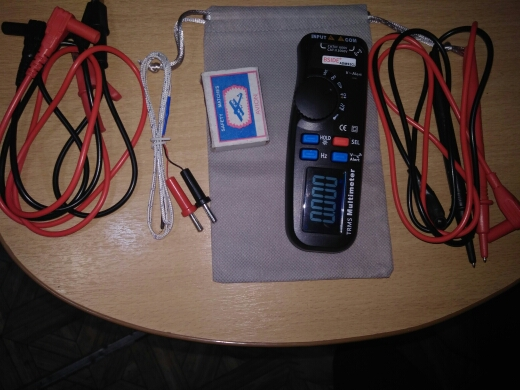 MultímetrosAdm92cl Multifunções Display