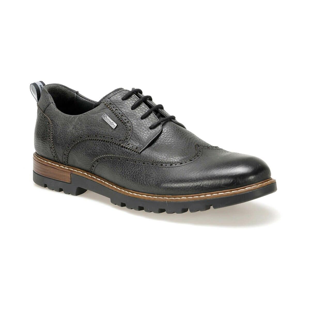 FLO PADULB 9PR Black Men 'S Classic Shoes MERCEDES
