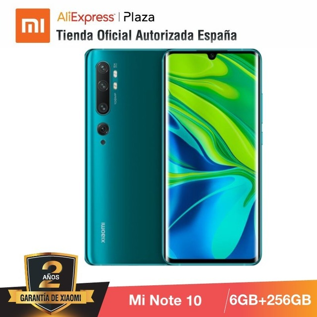Mi Note 10 PRO (256GB ROM con 8GB RAM, Cámara 108 MP , Android, Nuevo, Móvil) 3