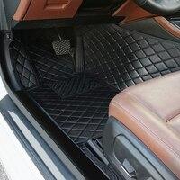 car Mats For Mitsubishi Pajero sport 2019 Right steering wheel car floor mats car interior from irkutsk car accessories