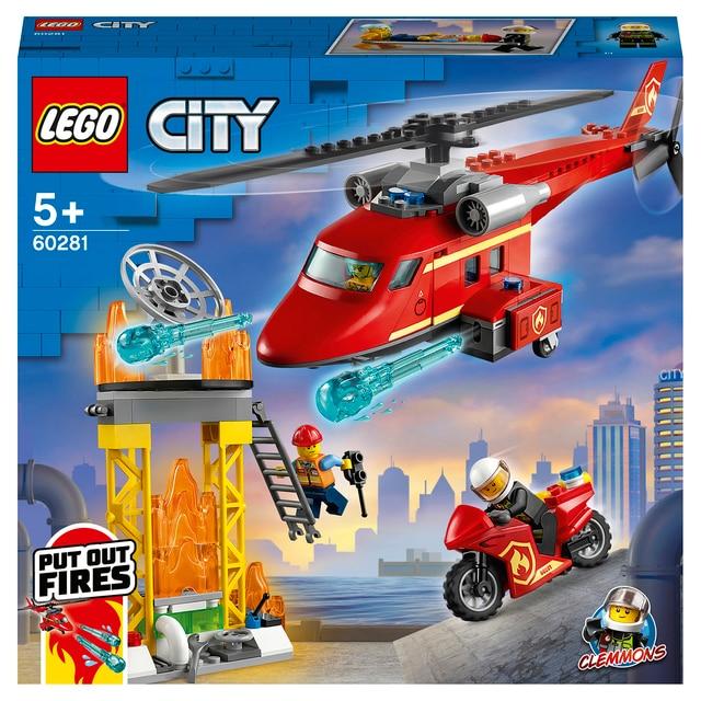 Конструктор LEGO City Fire Спасательный пожарный вертолёт