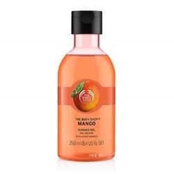 De Body Shop Mango Douchegel Body Wasmachine 250 ml Hydraterende Voedende Droge Huid Normale Huid Verse Geur Zeep Gratis bad