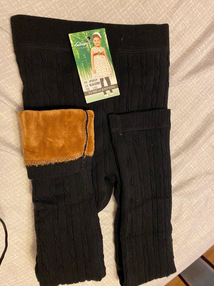 Grils Leggings  Autumn Winter Children Striped Pants For KIds Thick Warm Elastic Waist Cotton Leggings Girl Pants Trousers pants for kids girls pantsleggings girls pants - AliExpress