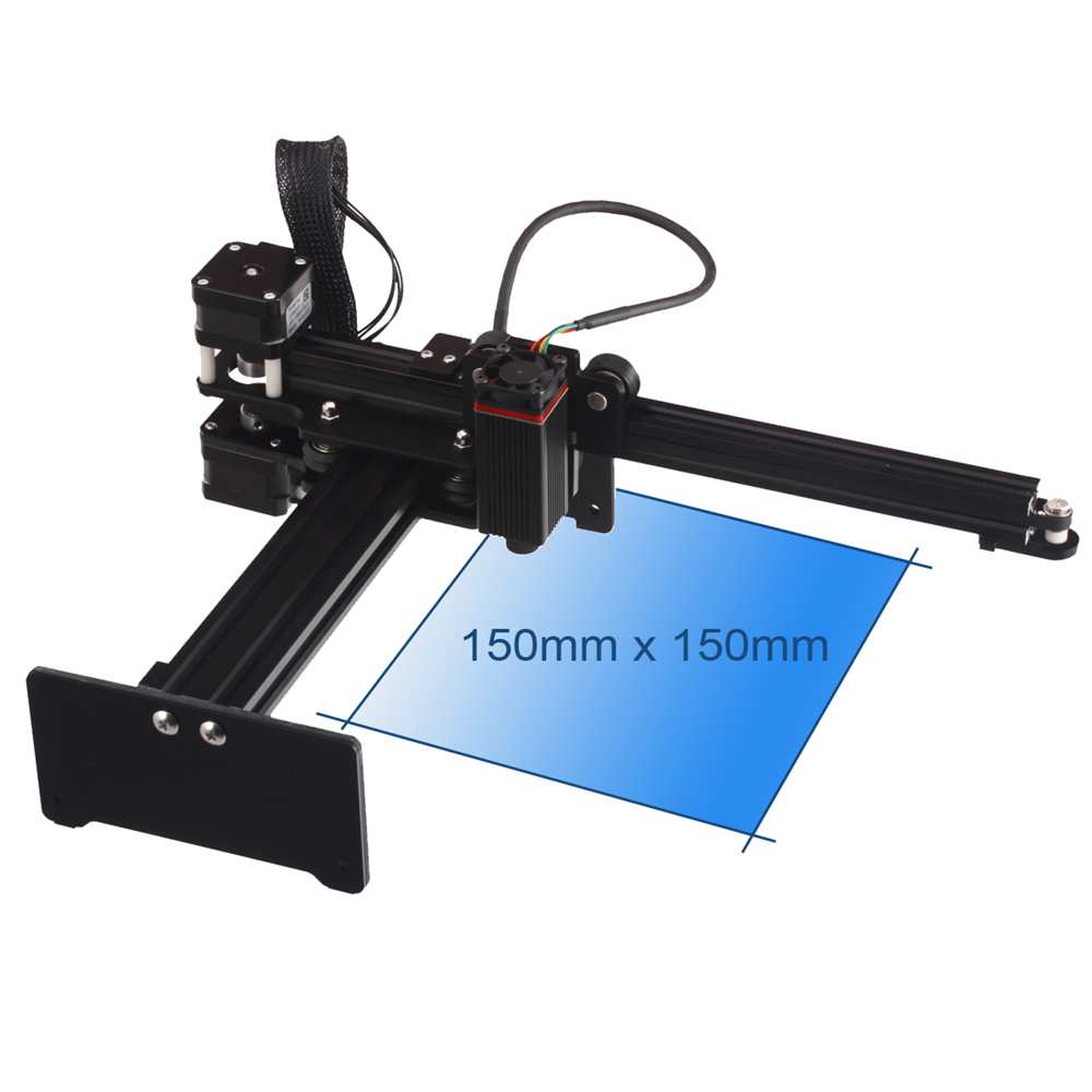 20W Portable Laser Engraver Laser Engraving Laser Cutting Machine Desktop Cutter Personal DIY Tools Woodworking Machinery Parts