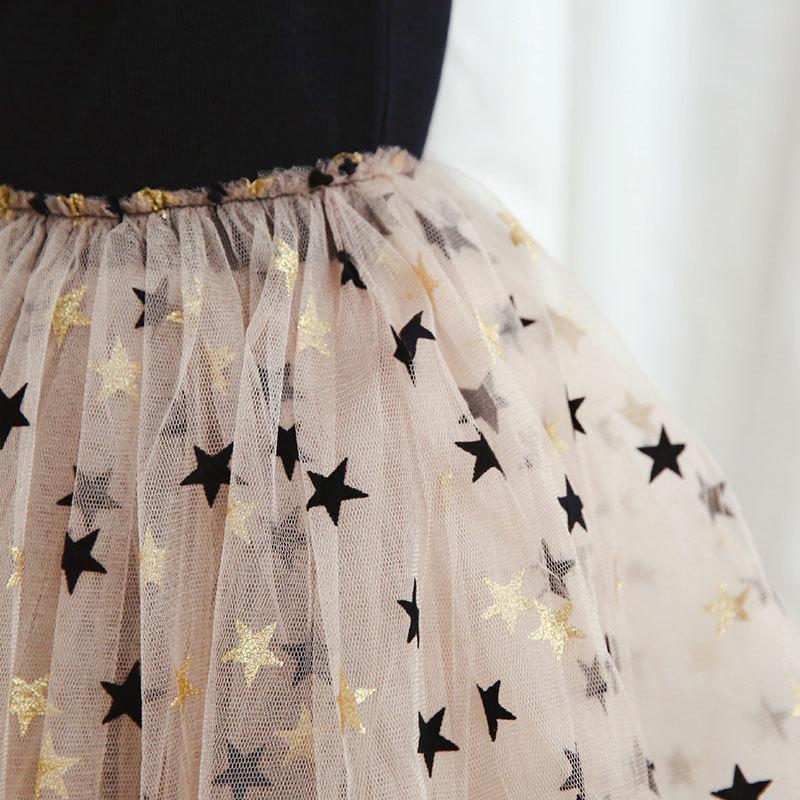 Ub97d34b5854d4f5e8b39718261a05c22h Brand Girls Clothes Super Star Design Baby Girls Dress Party Dress For Children Girls Clothing Tutu Birthday 3-8 Years Vestidos
