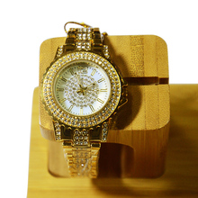 цены Women Wrist watches gold luxury brand diamond Quartz ladies watches stainless steel clock woman watch relogio feminino 2020