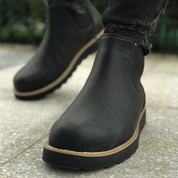 Chekich buty na buty męskie męskie buty zimowe moda śnieg buty buty Plus rozmiar trampki kostki mężczyźni buty zimowe buty obuwie męskie podstawowe buty buty męskie 2020 wiosna modne buty zimowe dla mężczyzn Zapatos Hombre CH045 tanie i dobre opinie Minea Sztuczna skóra Slip-on Pasuje prawda na wymiar weź swój normalny rozmiar Buty łodzi Mieszane kolory Dla dorosłych