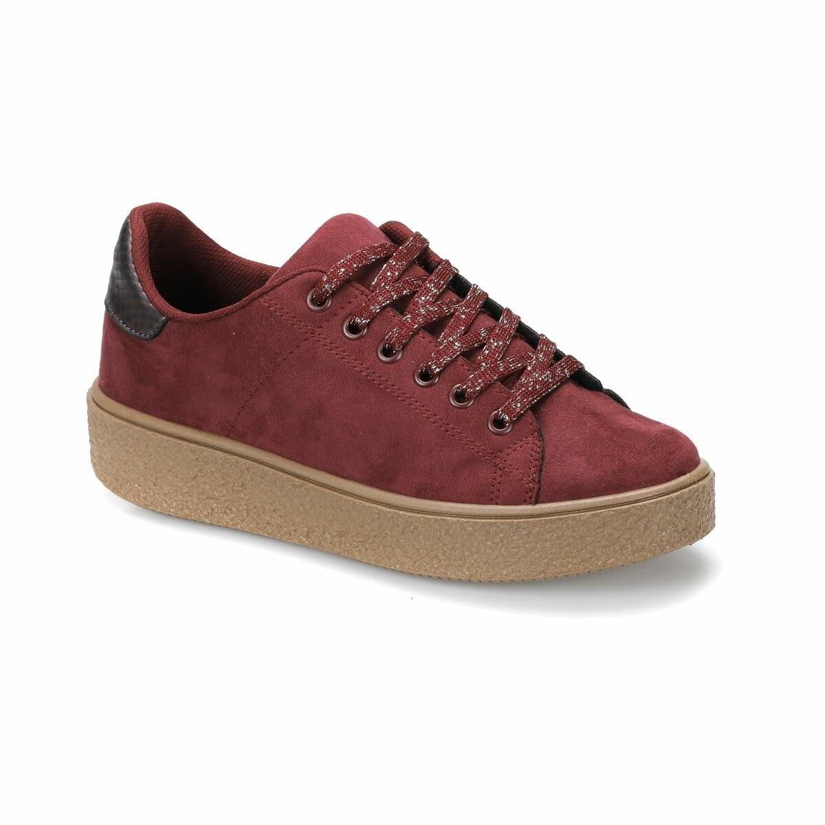 FLO CW18062 Burgundy Women 'S Sneaker Shoes Art Bella