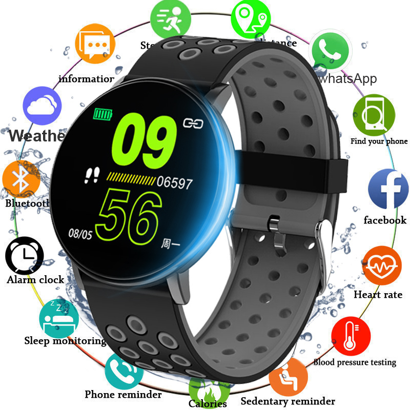 Smart Fitness Bracelet Pressure Measurement Smart Band Pedometer Fitness Tracker Health Bracelet Heart Rate Wristband In Innrech Market.com