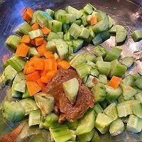 芝麻酱拌黄瓜的做法图解6
