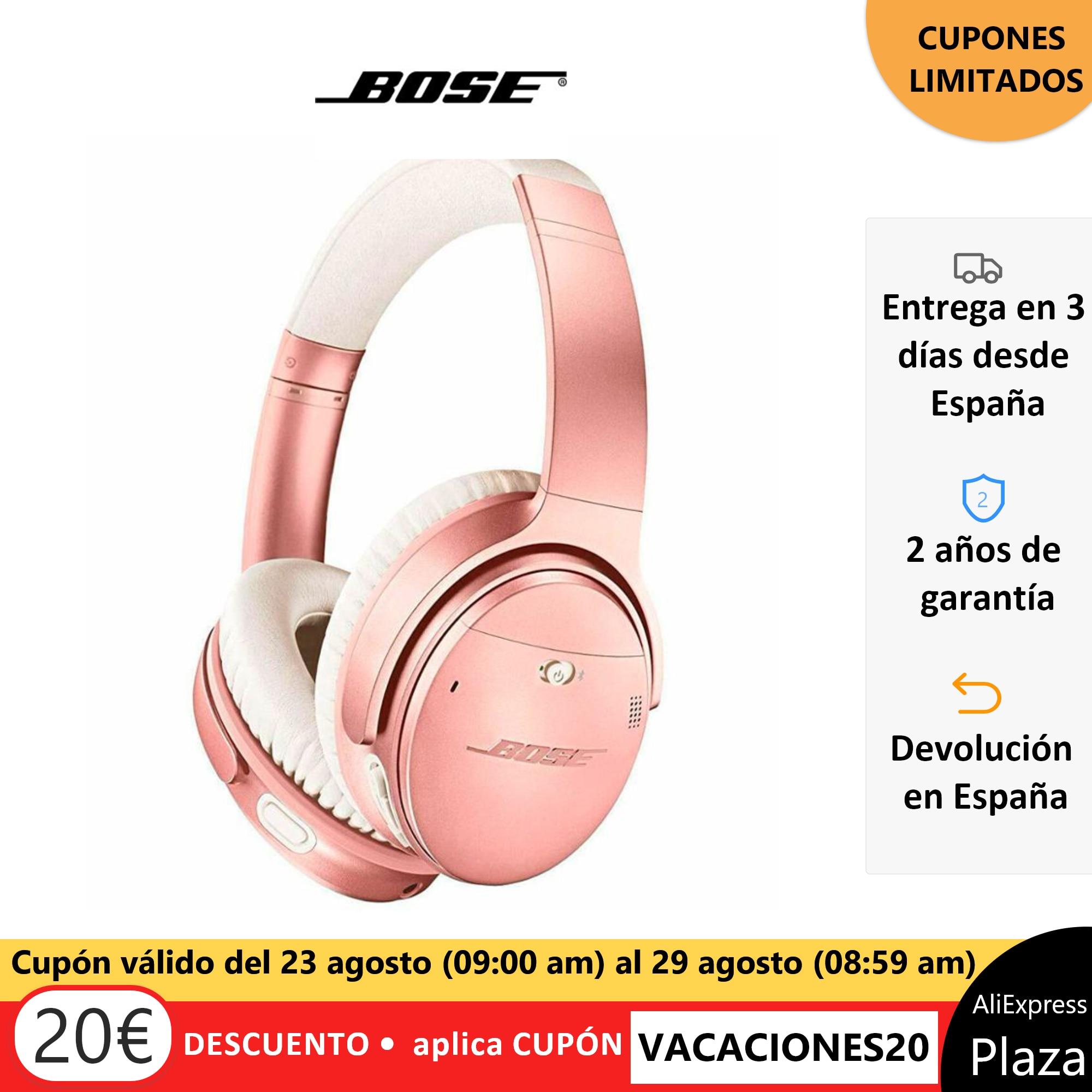 Bose QuietComfort 35 II wireless headphones ear bluetooth ratio noise canceling Google Assistant folding free from