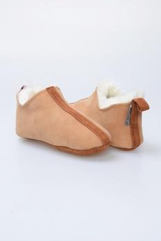 Kids Sheepskin House Shoes Тапочки Домашние Детские Pantuflas Pantufa Slippers Kids Тапки Домашние 슬리퍼 Kapcie Ciabatte Bambina фото