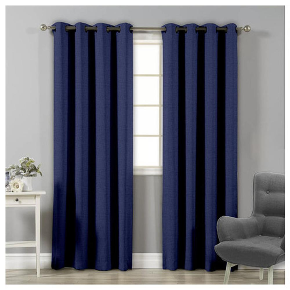Blackout Curtains Modern Insulation Lounge Thermal For Dorm Room 1 Piece 140x260 Cm ADP Home