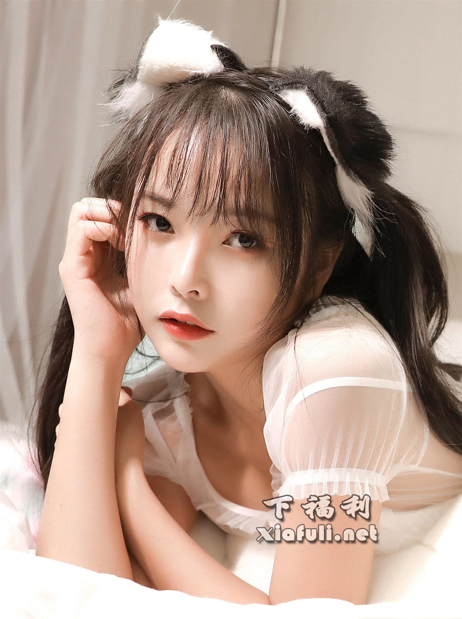 苏嫣嫣阿姨 NO.001 白色猫耳头饰 [10P-15MB]插图