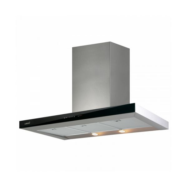 Conventional Hood Cata 2029203 90 Cm 710 M3/h 67 DB 130W Black Stainless Steel
