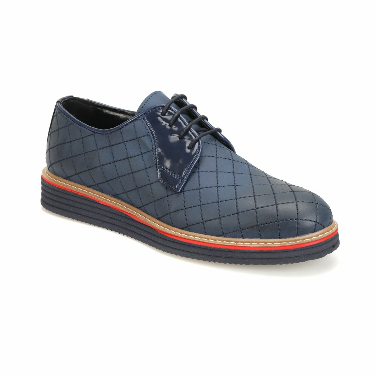 FLO 3321 Navy Blue Men 'S Classic Shoes JJ-Stiller