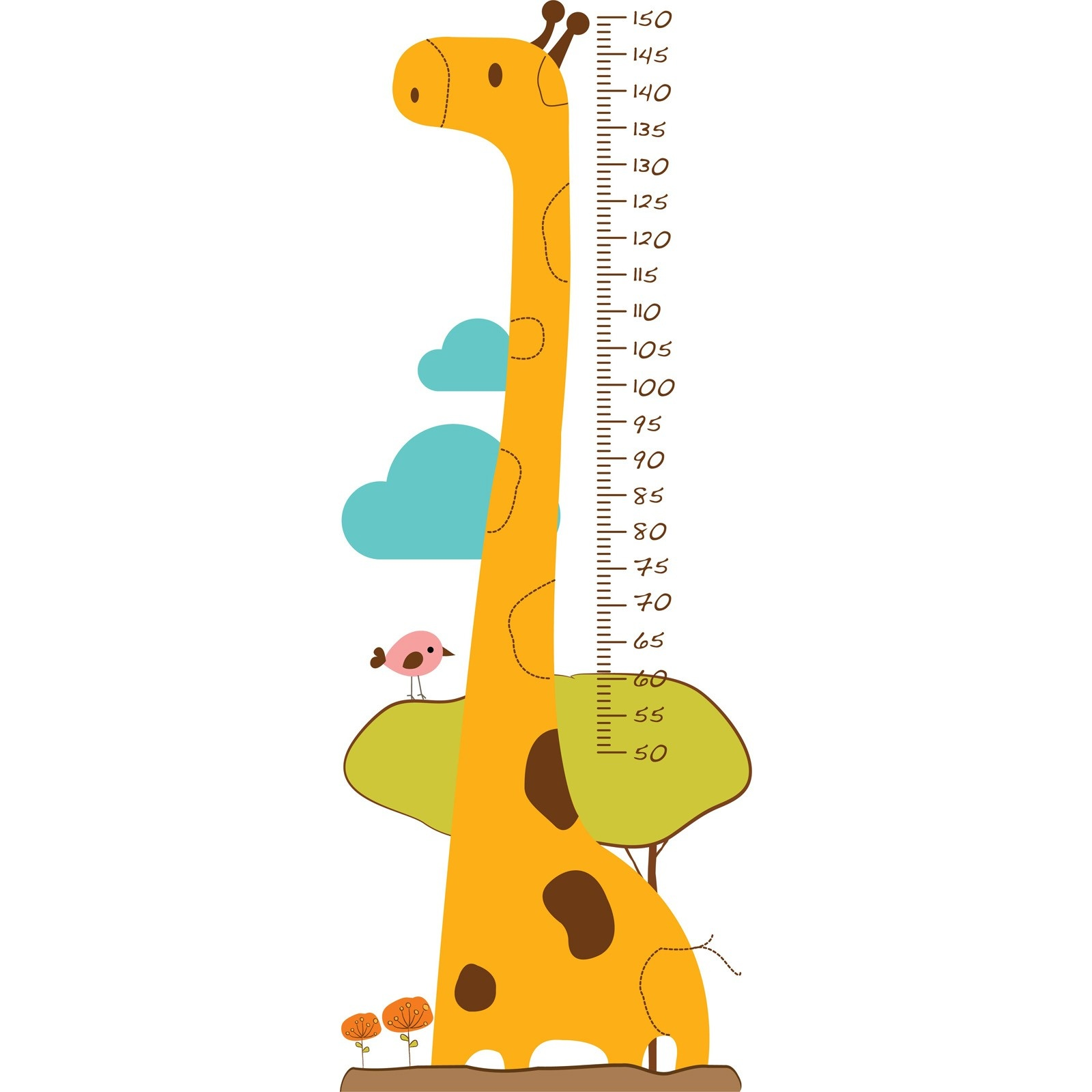Ebebek Mycey Baby Height Gauge Sticker