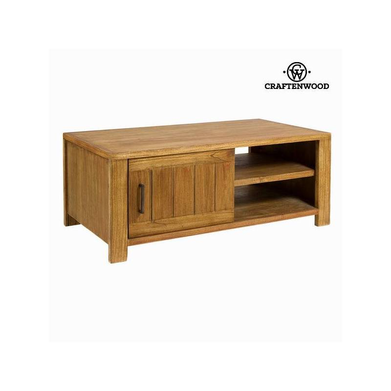 Table Wood TV Mindi (110x60x45 Cm)-The Collection Square By Craftenwood