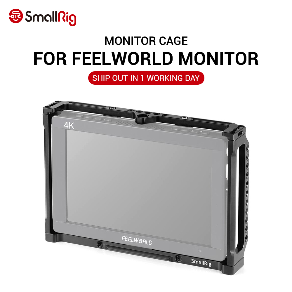 Jaula de Monitor SmallRig para Monitor Feelworld T7, 703, 703S, MA7, Monitor MA7S y F7S 2233