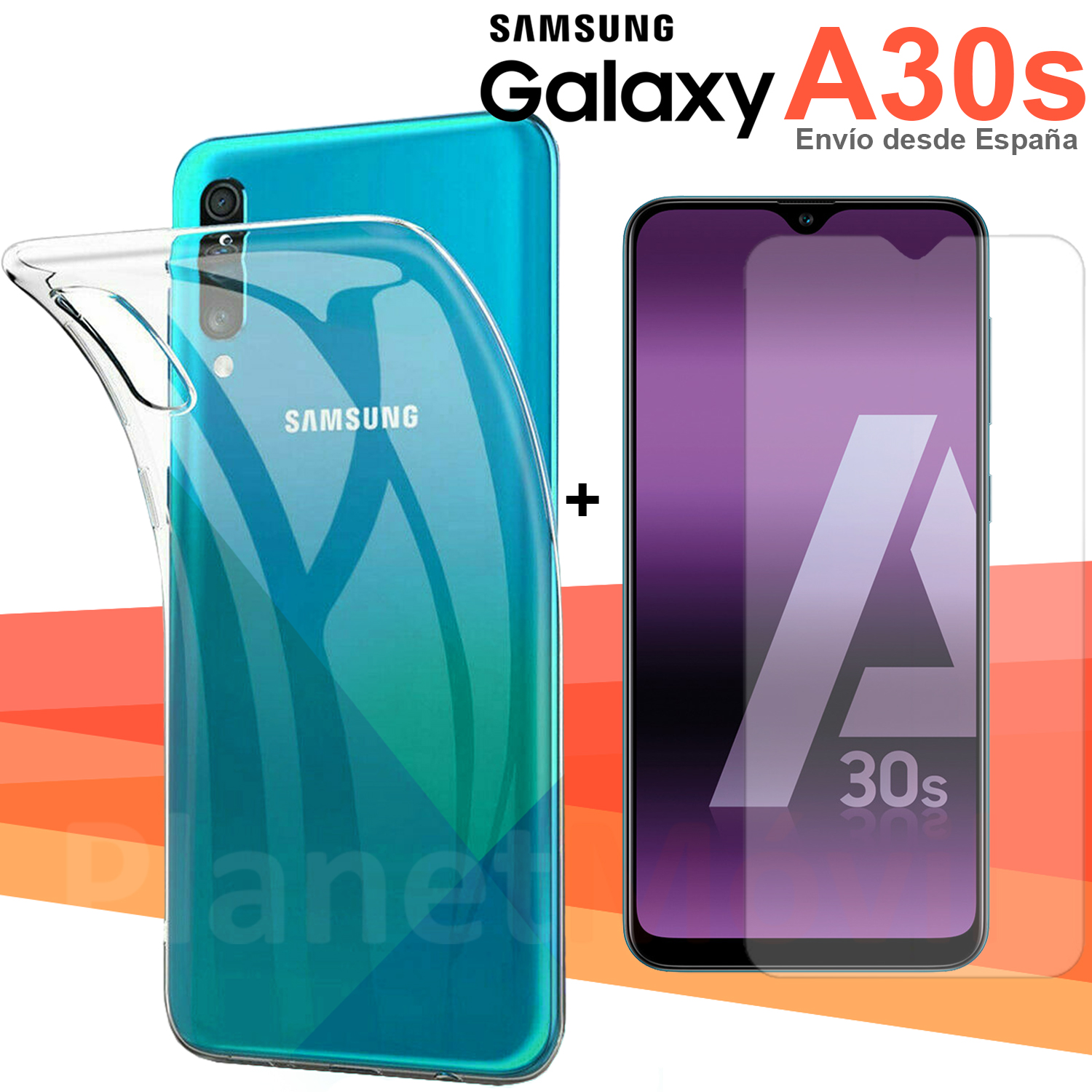 Compatible Samsung Galaxy A30s Protection Pack 6,4