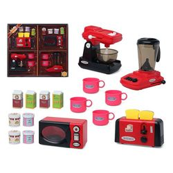 Kitchen Set Red 118682