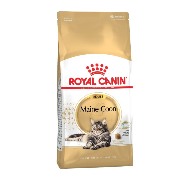 Royal Canin Maine Coon Adult для кошек породы мейн-кун, Cat Food, For Cats, 10 кг