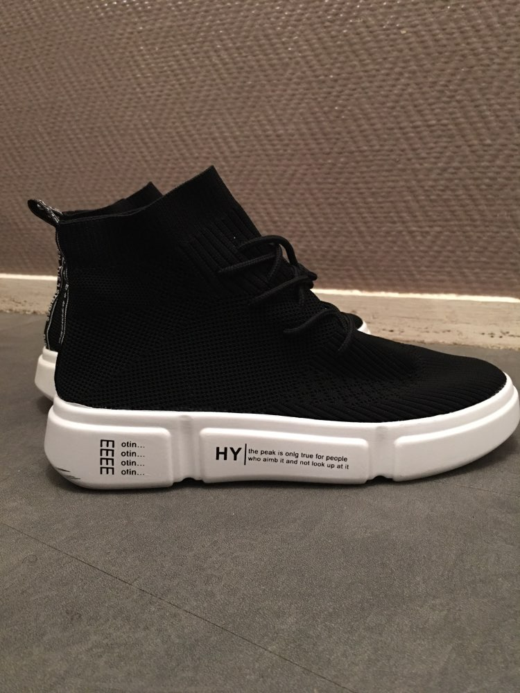 -- elastic sapatos respirável