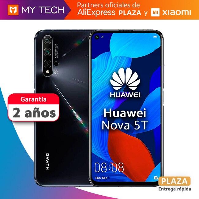 Smartphone Huawei Nova 5T, phone mobile original, new, free from Spain, global version, old 2 warranty