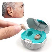 Digitale Hörgeräte Aufladbare Digitalen Hörgerät mit Lade Fall Audifonos Hören Gerät Anhörung Verstärker für Ältere