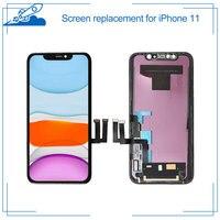 Grade AAA + + + Für iPhone 11 Retina LCD Display Mit 3D Touchscreen Digitizer Montage Ersatz Für iPhone11 Teile Mit geschenk
