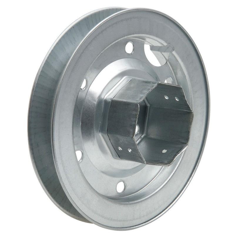 Disk Roller Shutter Metal Tang Metal 180x60mm Tape 18/22mm.